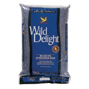 Wild Delight 20 lb. Sunflower Bird Food Bag by Wild Delight