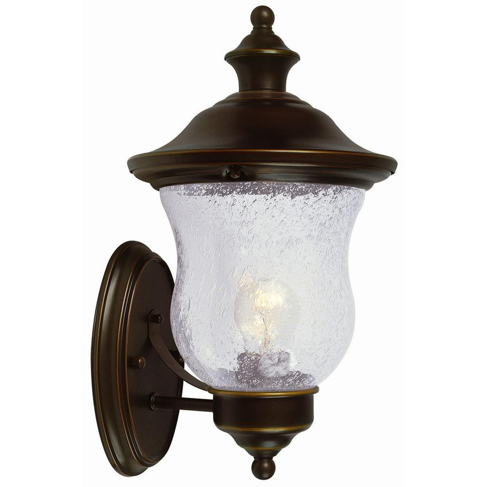Design House Highland Oil-Rubbed Bronze Outdoor Uplight-505362 ...