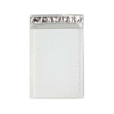 6.25 in. x 9.25 in. White Poly Bubble Mailers Envelope with Adhesive Easy Close Strip (250-Case)