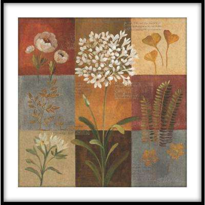 """13.75 in. x13.75 in. """"Painted Daisies"""" Framed Wall Art"""