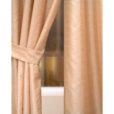 Home Decorators Collection Semi-Opaque Straw Crescent Heights Rod Pocket Panel - in. W x 96 in. L