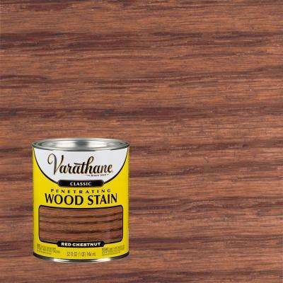 1 qt. Red Chestnut Classic Wood Interior Stain