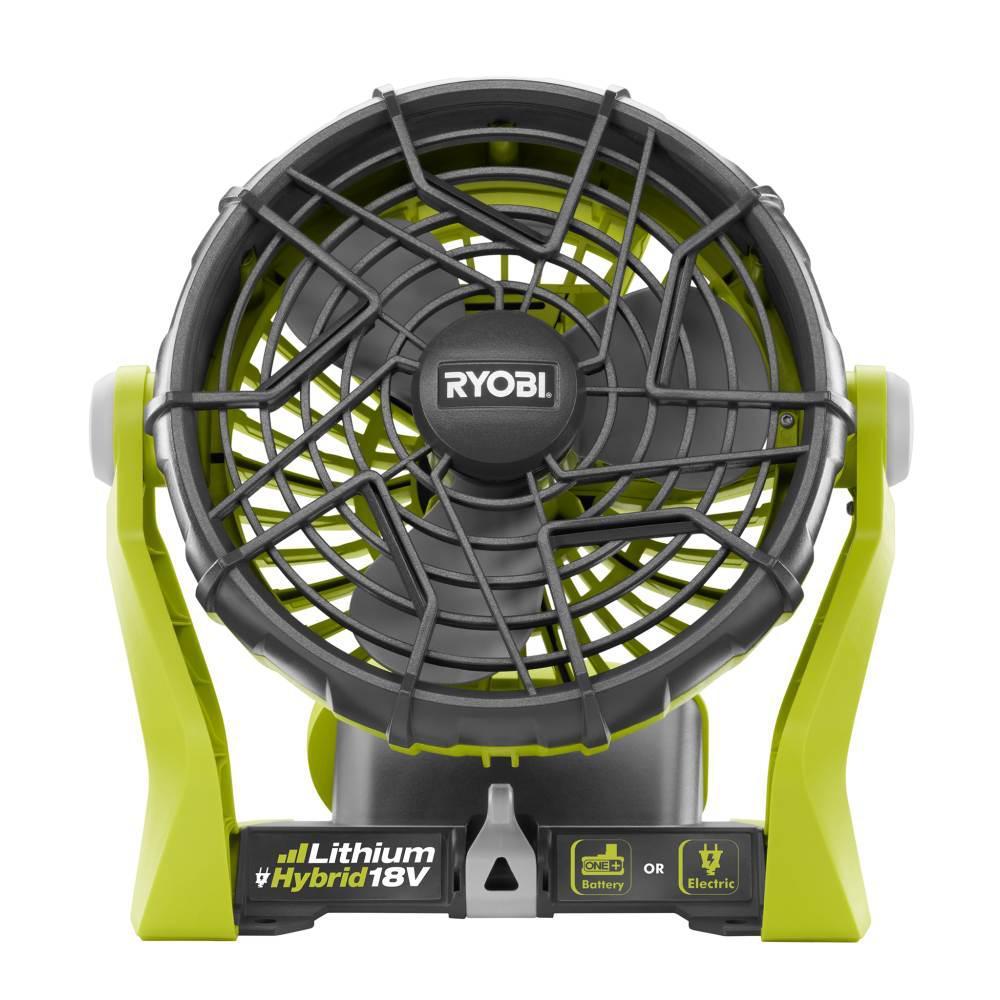Ryobi 18-Volt ONE+ Hybrid Portable Fan (Tool Only)