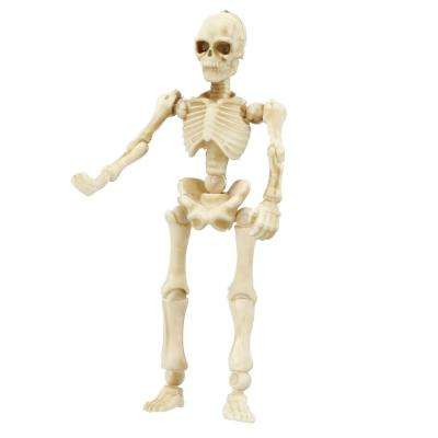7 in. Mini Skeleton with Poseable Hands and Legs