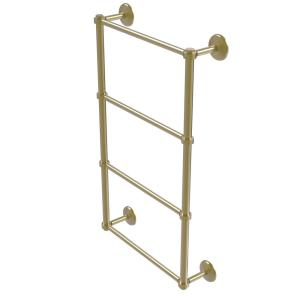 Allied Brass Monte Carlo Collection 30 inch 4-Tier Ladder Towel Bar in Satin... by Allied Brass