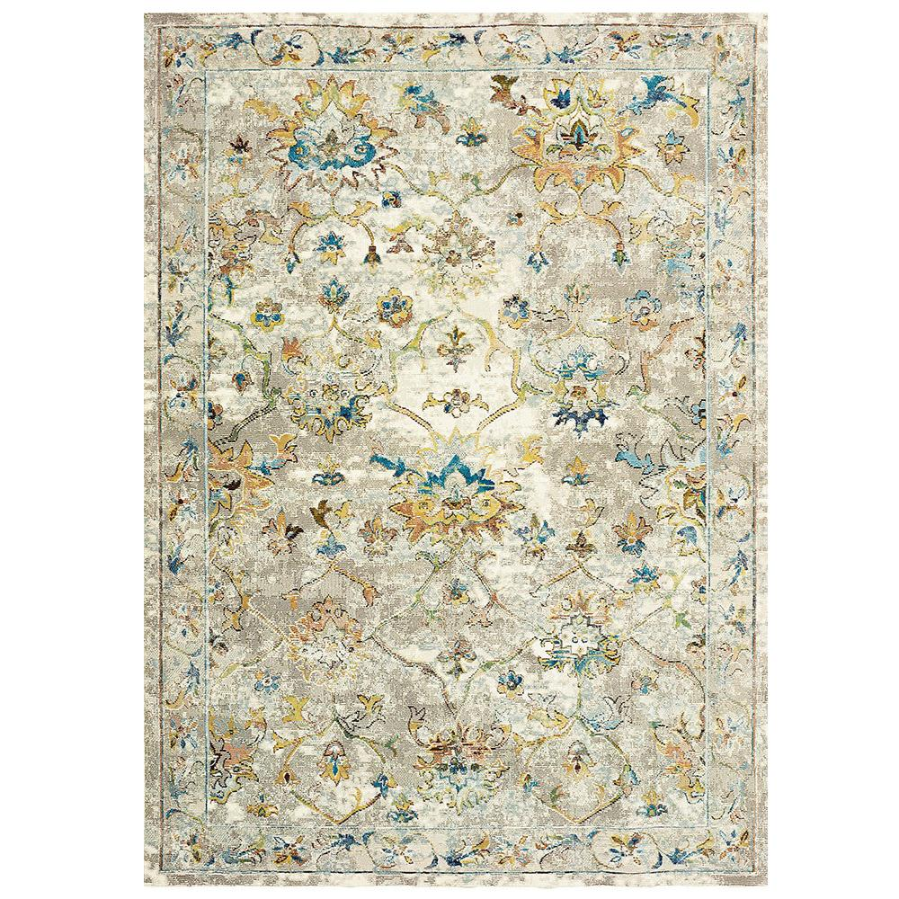 Gala Indigo Multi 8 ft. x 10 ft. Indoor Area Rug