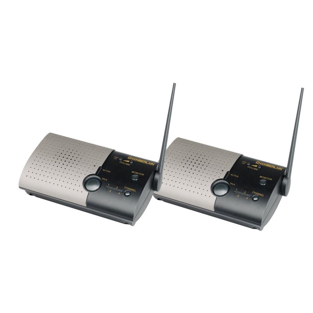 Chamberlain Wireless Indoor Portable Intercom-DISCONTINUED