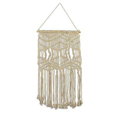 Mayco Diamond Macrame Wall Hanging