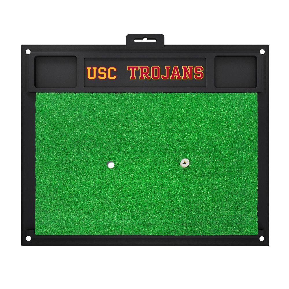 NCAA University of Southern California 17 in. x 20 in. Golf