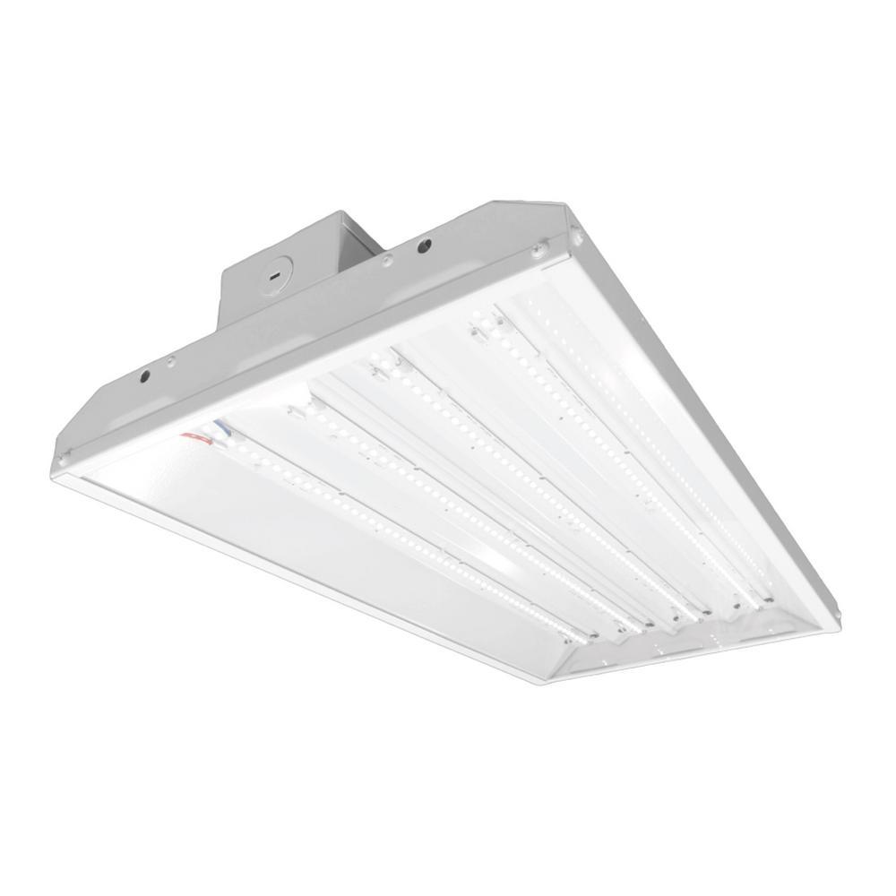 NICOR 223-Watt White Integrated LED High Bay in 4000K