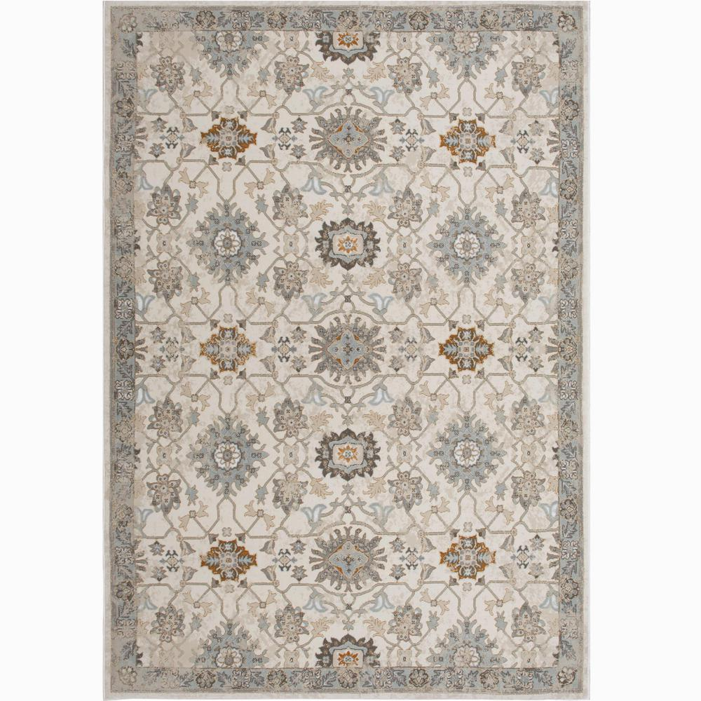 Home Dynamix Bazaar Luminous Ivory 5 Ft X 7 Ft Indoor