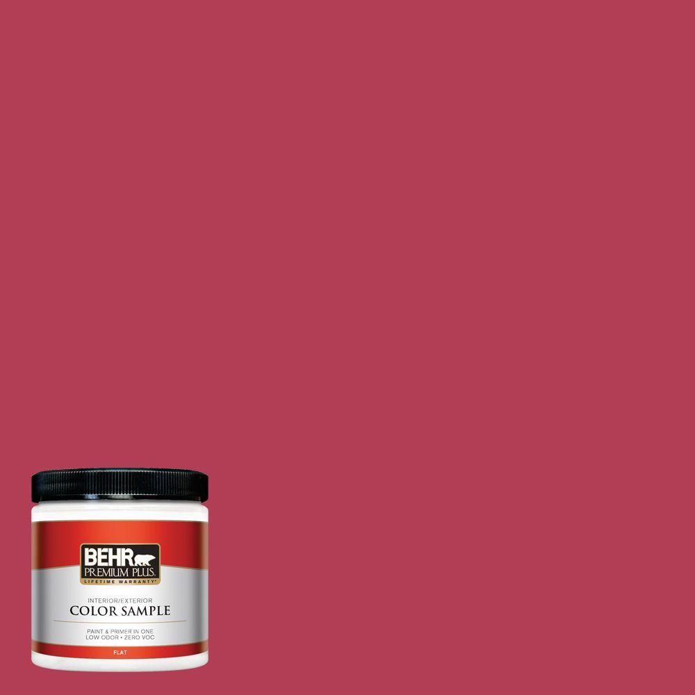 8 oz. #130B-7 Cherry Wine Interior/Exterior Paint Sample