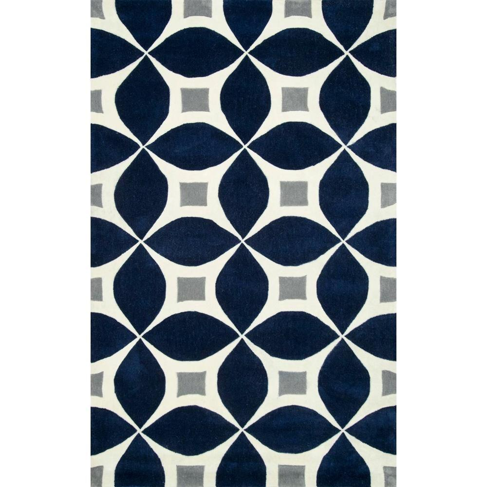 Nuloom Gabriela Navy 8 Ft X 10 Ft Area Rug Bhbc55f 76096 The