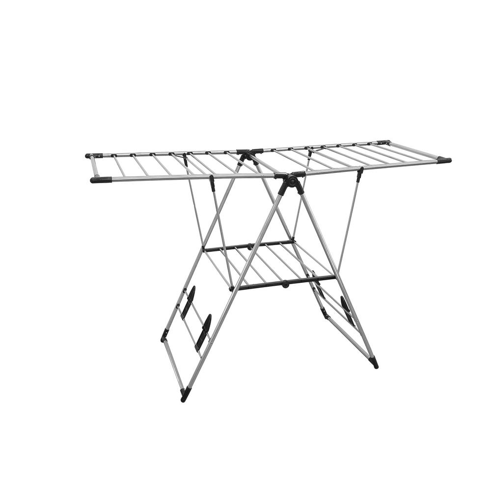 Greenway Stainless Steel Indoor/Outdoor X-Large Drying Center with Bar Shelf