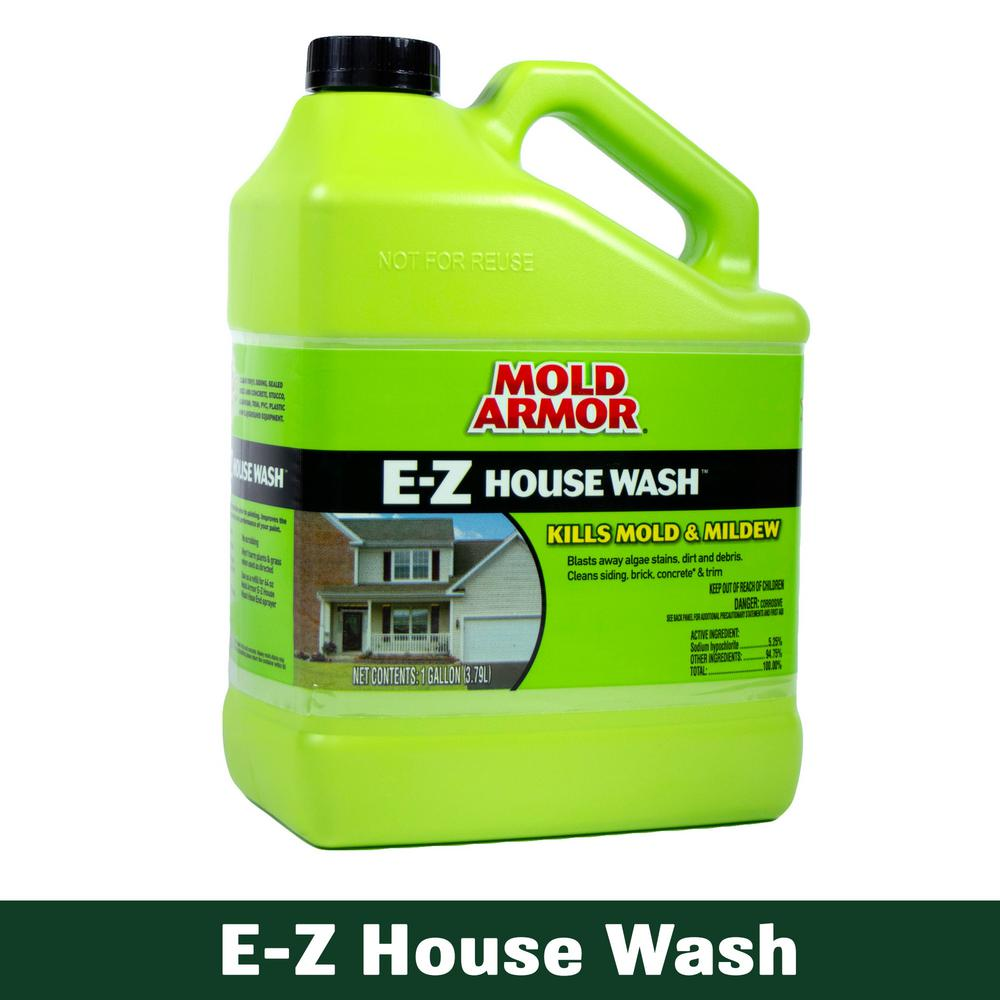 Mold Armor 1 Gal. E-Z House Wash Mold and Mildew Remover