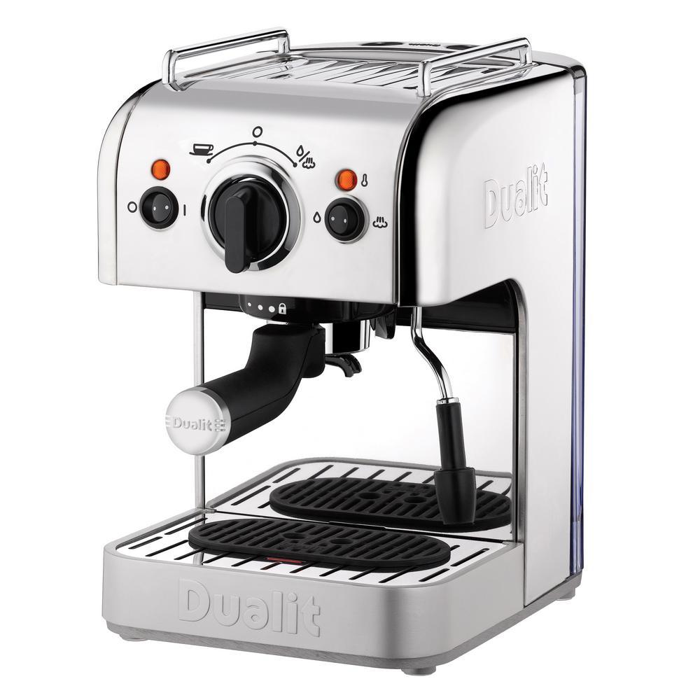 4-in-1 Stainless Steel Single Serve Espresso Machine with Bonus  NX Adapter