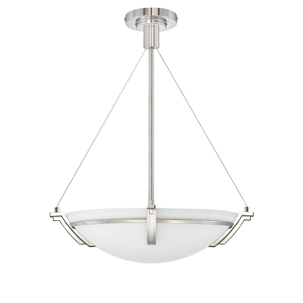 Filament Design Yeats 3-Light Polished Nickel Pendant