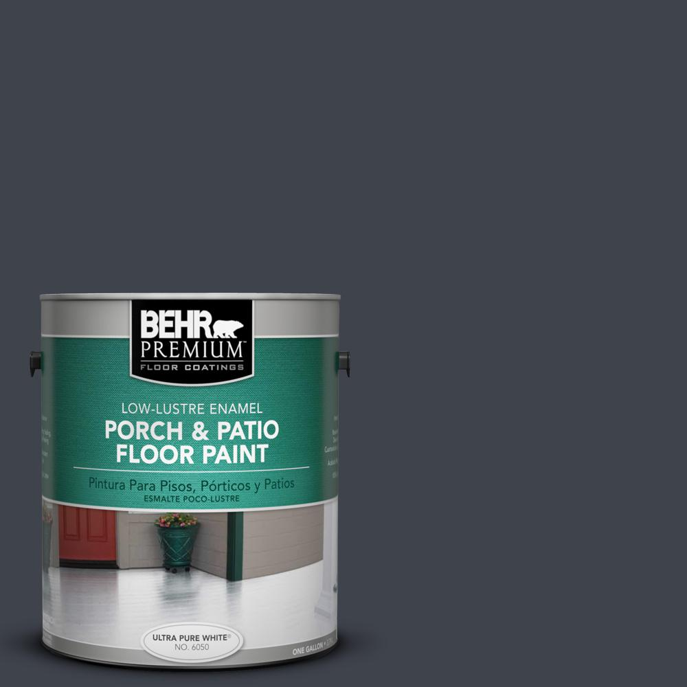 1 gal. #740F-7 Night Shade Low-Lustre Porch and Patio Floor Paint