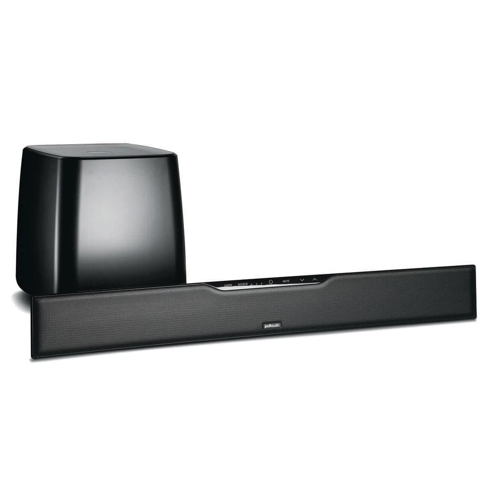 Polk Audio 80 Watt Sound Bar with a Wireless SubWoofer-DISCONTINUED