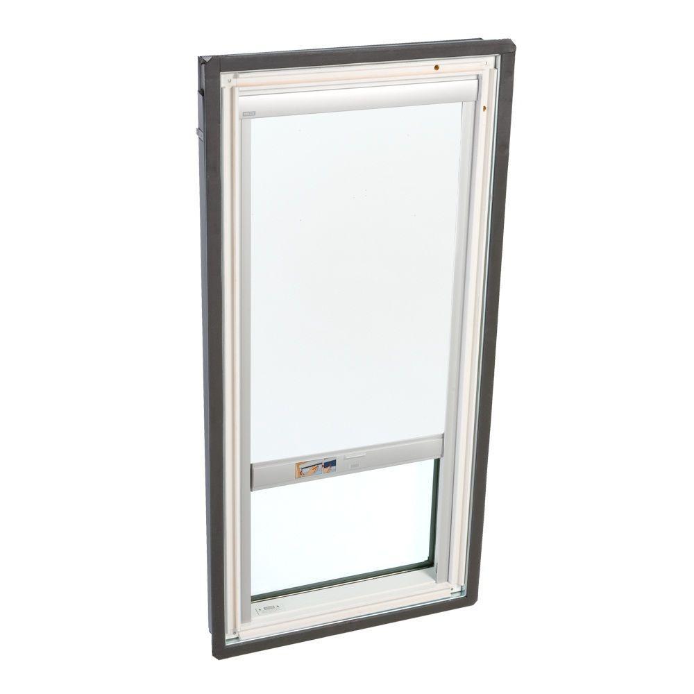 VELUX White Solar Powered Blackout Skylight Blind for FS/FSR D06 Models