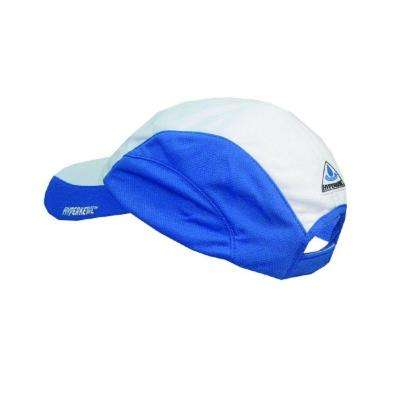 Blue Low-Profile Evaporative Cooling Hat