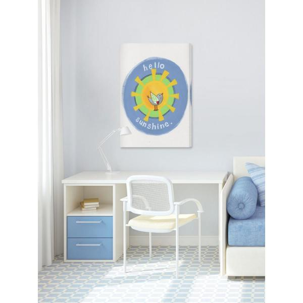 24 in. H x 16 in. W ''Hello Sunshine'' by Melonie