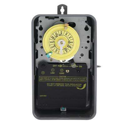 T101R Series 40 Amp 125-Volt 24-Hour SPST Mechanical Time Switch with Outdoor Enclosure