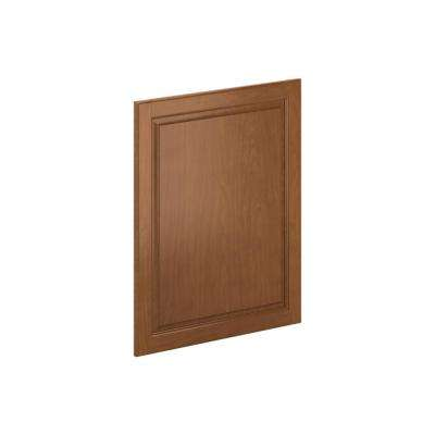 24 in. x 30 in. x 0.75 in. Madison Base Deco End Panel in Cognac