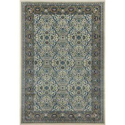 Dexter Florence Cream 7 ft. x 9 ft. Area Rug