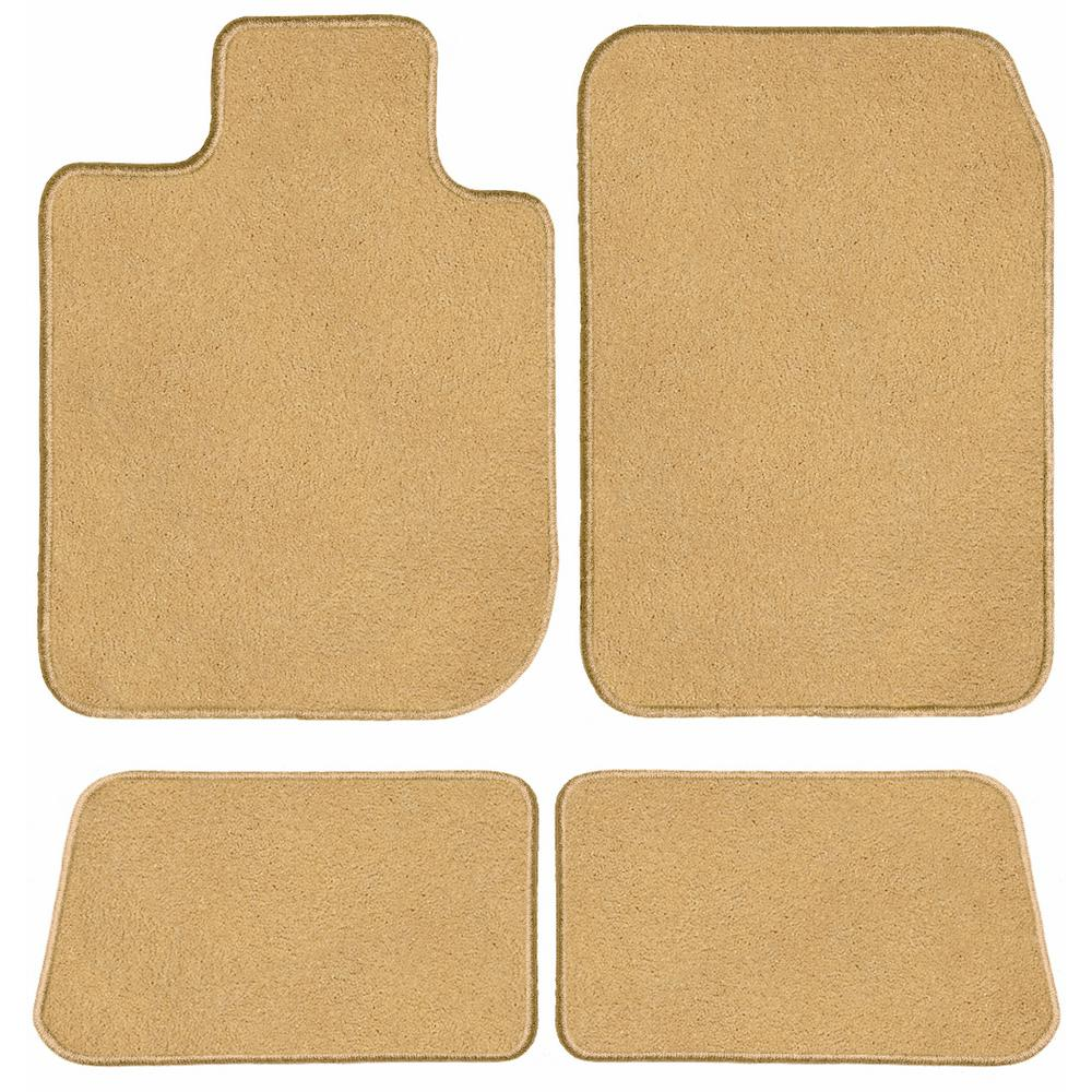 2009 GGBAILEY D60120-LSA-RD-IS Custom Fit Car Mats for 2008 Passenger 2012 2011 2nd /& 3rd Row 2013 Toyota Highlander Red Oriental Driver 2010 4 Piece Floor