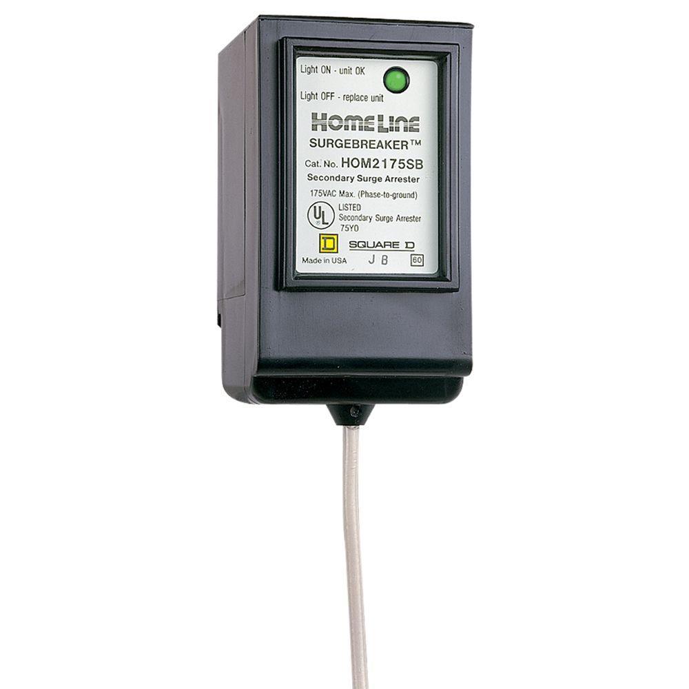 Square D Homeline 22 5 Ka 2 Pole Surgebreaker Surge Protective Device