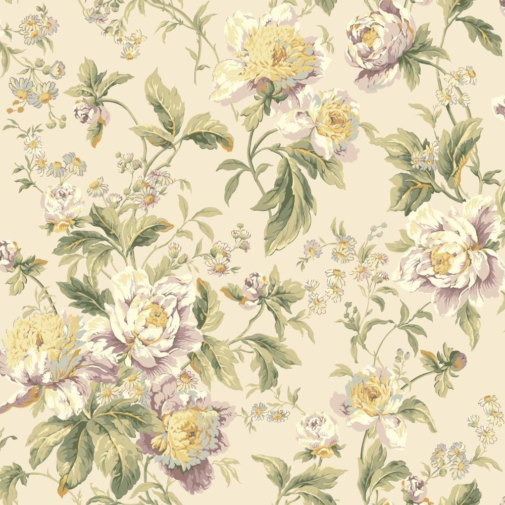 York Wallcoverings Waverly Classics Forever Yours