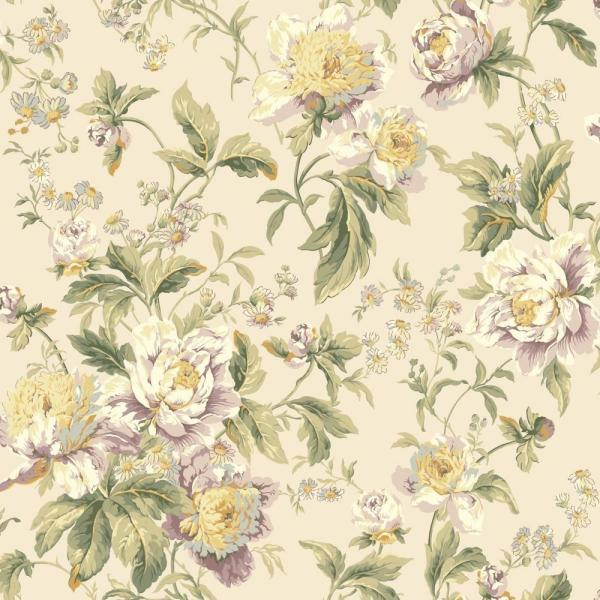 York Wallcoverings Waverly Classics Forever Yours Wallpaper Wa7807