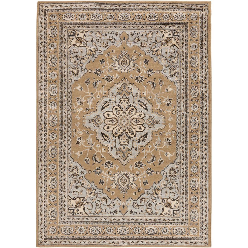 Peroz Taupe 5 ft. 3 in. x 7 ft. 6 in.