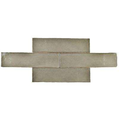 Chester Grey 3 in. x 12 in. Ceramic Wall Tile (1 sq. ft. / pack)