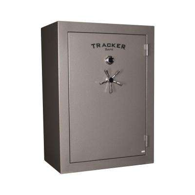 64-Gun Fire-Resistant Combination/Dial Lock Gun Safe, Gray