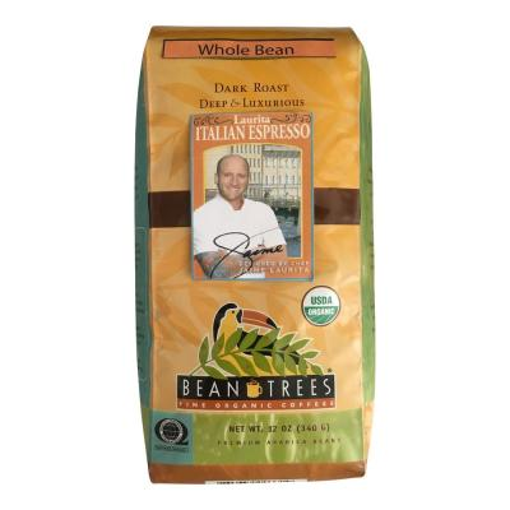 12 oz. Chef Jaime Italian Espresso Coffee Whole Beans (3-Bags)