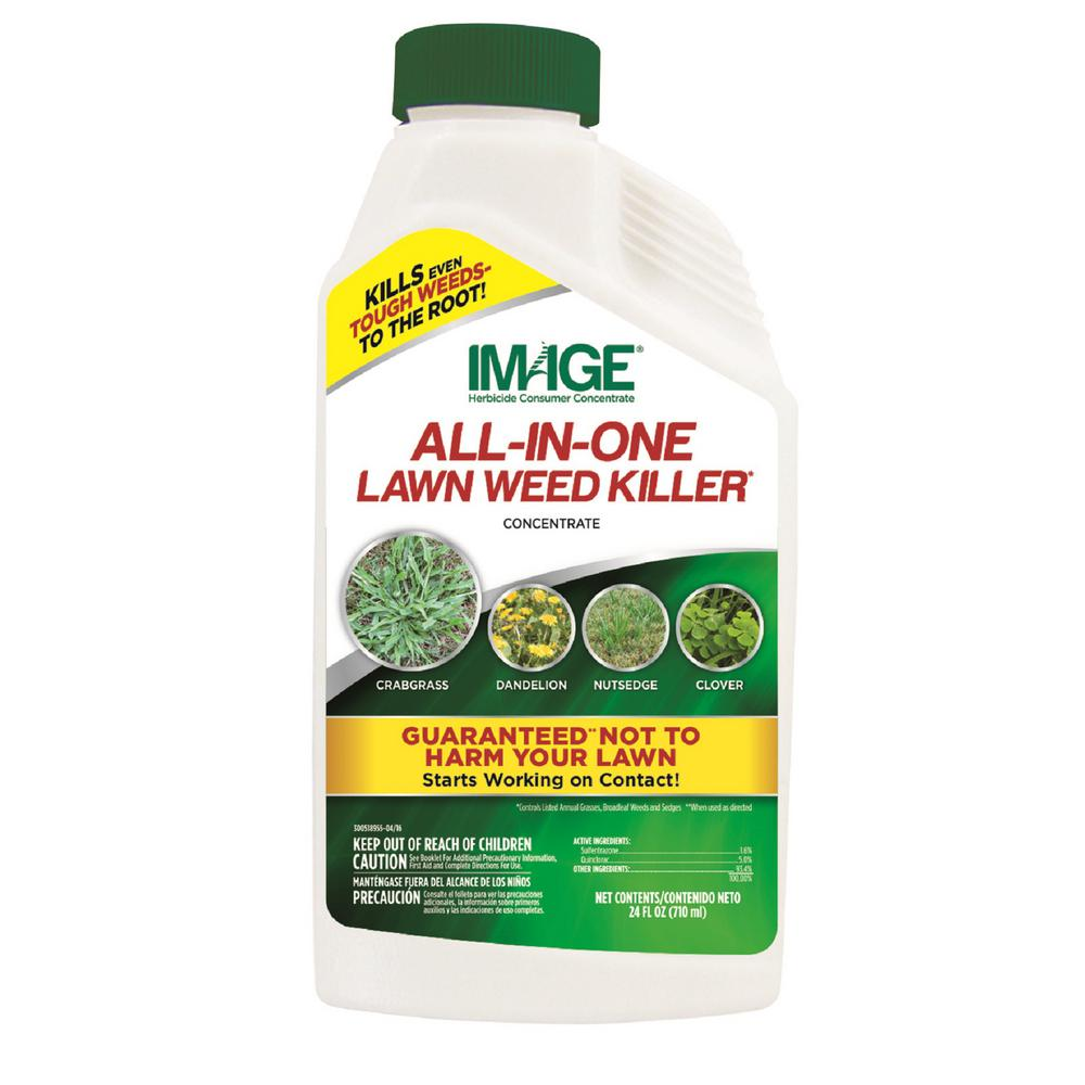IMAGE IMAGE Herbicides All-In-One Lawn Weed Killer Concentrate