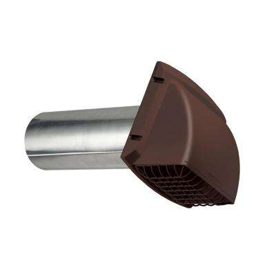 4 in. ProMax wide Mouth Exhaust Hood - Brown