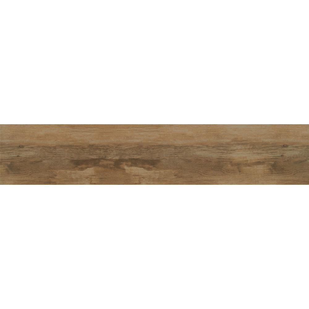 MSI Timewood Amber 8 in. x 40 in. Glazed Ceramic Floor and Wall Tile (11.10 sq. ft./case)
