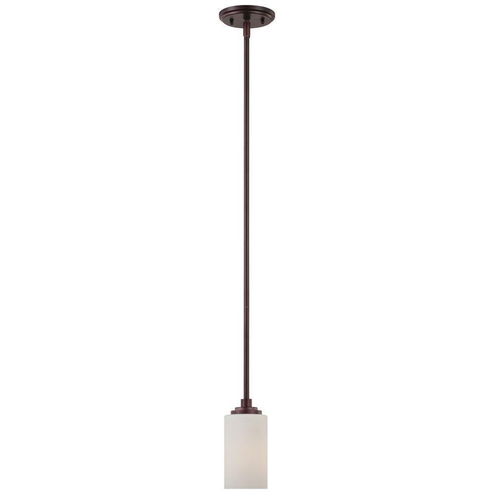 Thomas Lighting Pittman 1-Light Sienna Bronze Pendant