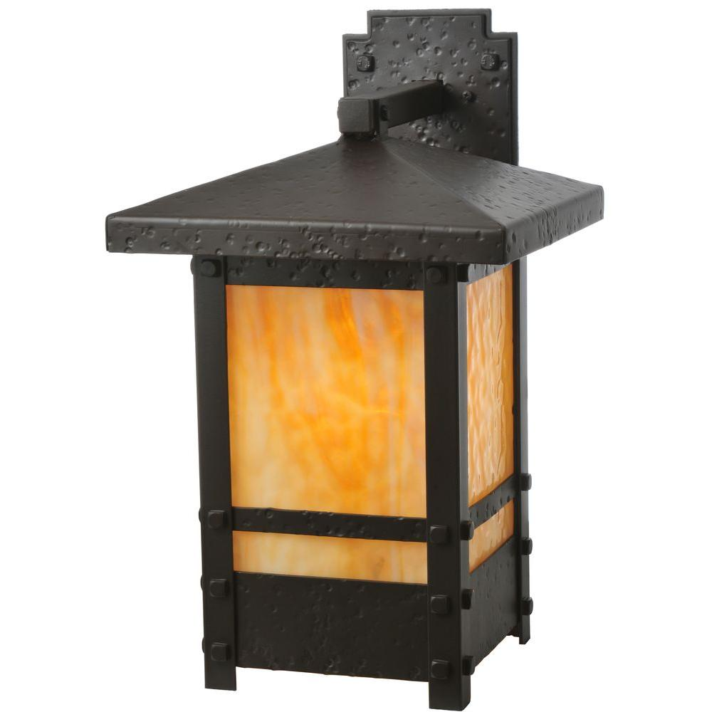 Illumine 1 Light Solid Mount Wall Sconce Oil Rubbed Bronze Finish