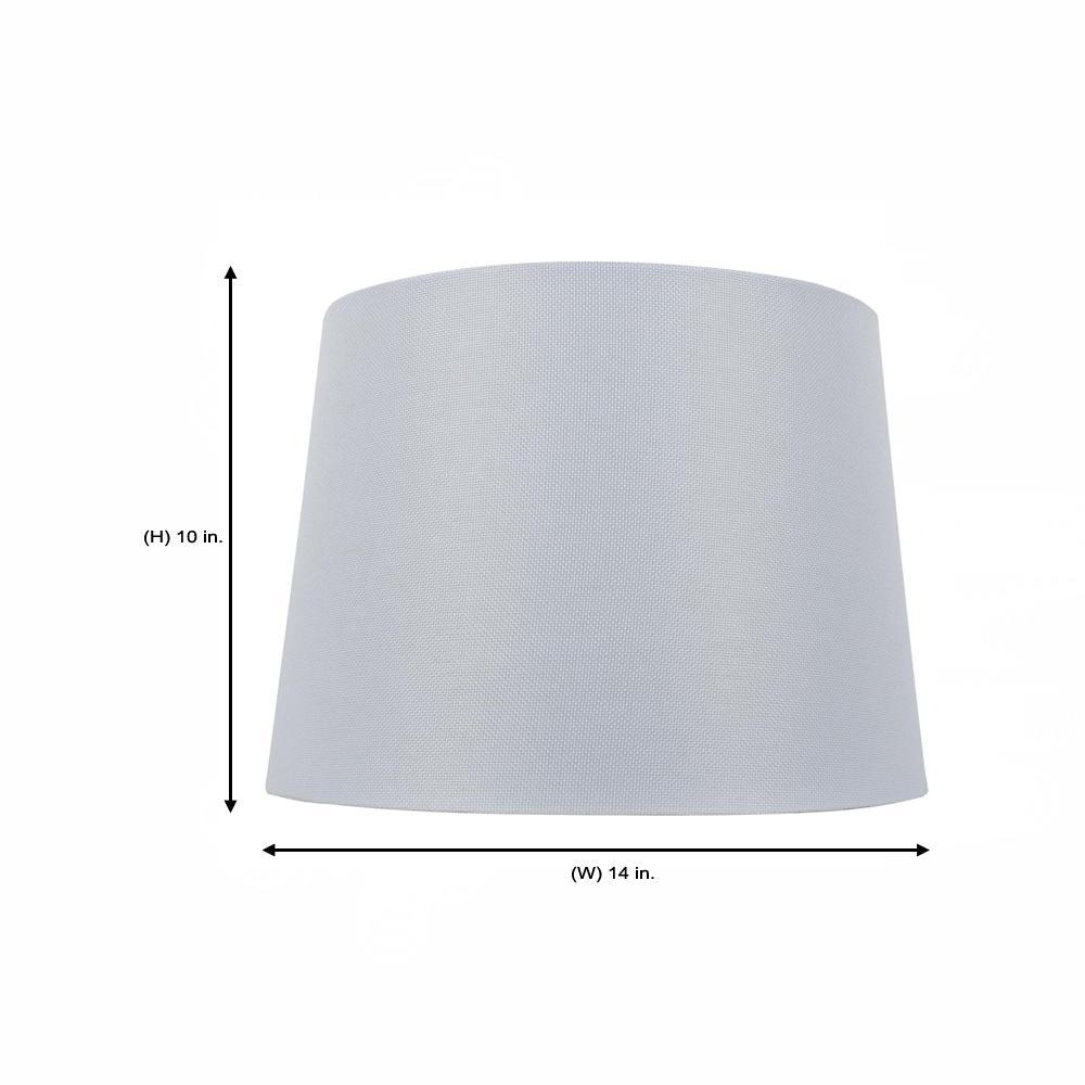 Dia X 10 In H White Round Table