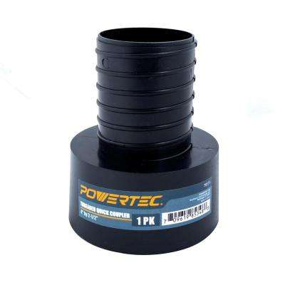 4 in. x 2-1/2 in. Threaded Quick Coupler
