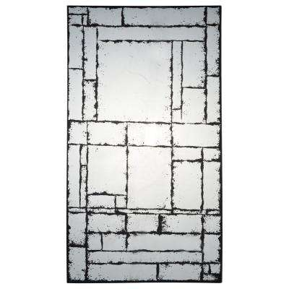 Fletcher 27.56 in. x 47.24 in. Unframed Wall Mirror