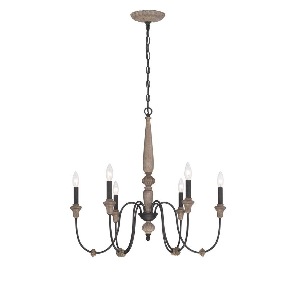 World imports capra 6 light rust chandelier with distressed ivory world imports capra 6 light rust chandelier with distressed ivory accents aloadofball Gallery