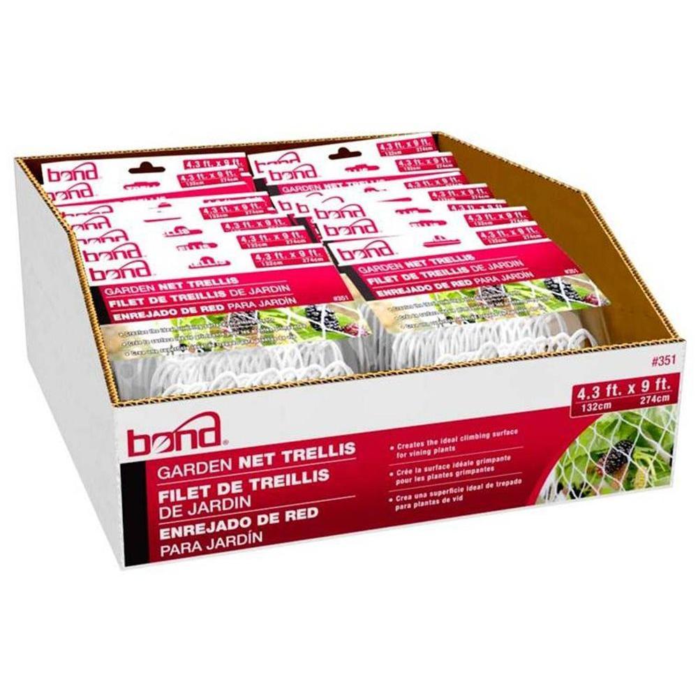 Garden Net Trellis (24-Pieces per Pack)