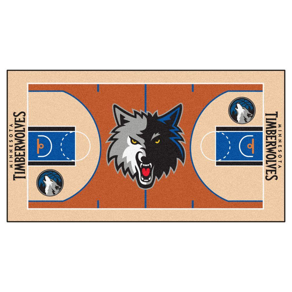 Fanmats Minnesota Timberwolves 2 Ft X 3 Ft 8 In Nba