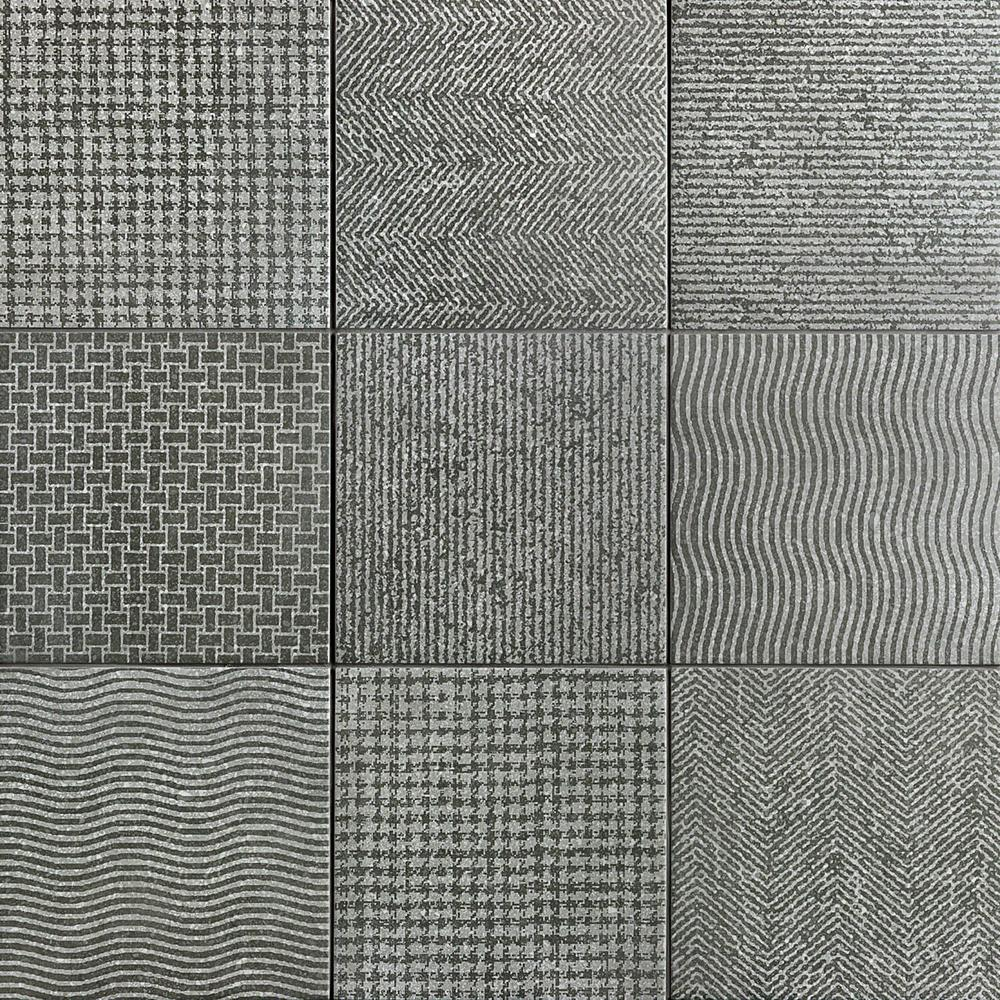 Ivy Hill Tile Legacy Gray 8 in. x 8 in. 9mm Matte Porcelain Floor and Wall Tile (25-piece 10.76 sq. ft. / box)