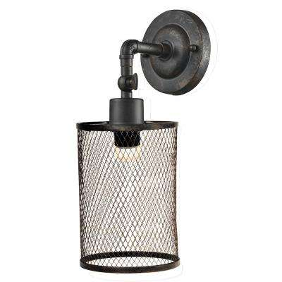 Ritchie 7.5-Watt Antique Bronze Integrated LED Wall Sconce